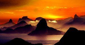 Rio de Janeiro mar e montanhas