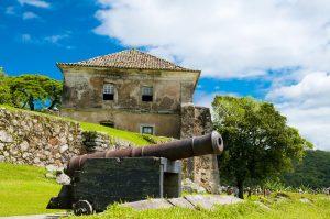 há muitas Fortalezas para conhecer quando visitar Florianópolis