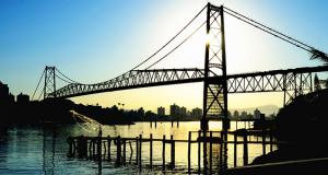 viaje para visitar Florianópolis
