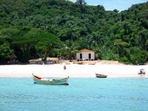 Não deixe de conhecer a Ilha do Campeche quando visitar Florianpolis