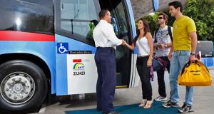 Diferentes tipos de ônibus para a sua viagem