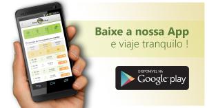 Baixe nosso App para Android e viaje tranquilo