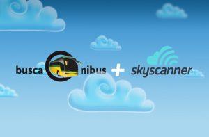 buscaOnibus e Skyscanner foram parceria para ampliar os seus horizontes