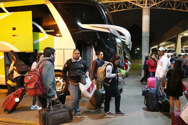 Principais terminais do Brasil irão ofertar ônibus extras. Imagem: Cesar Brustolin/SMCS/Divulgação