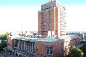 Prédio da Prefeitura de Montevidéu é um ótimo mirante da cidade