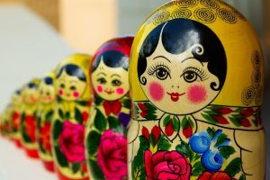Matriosca ou Matryoshka, a chamada boneca russa, é um brinquedo tradicional da Rússia.