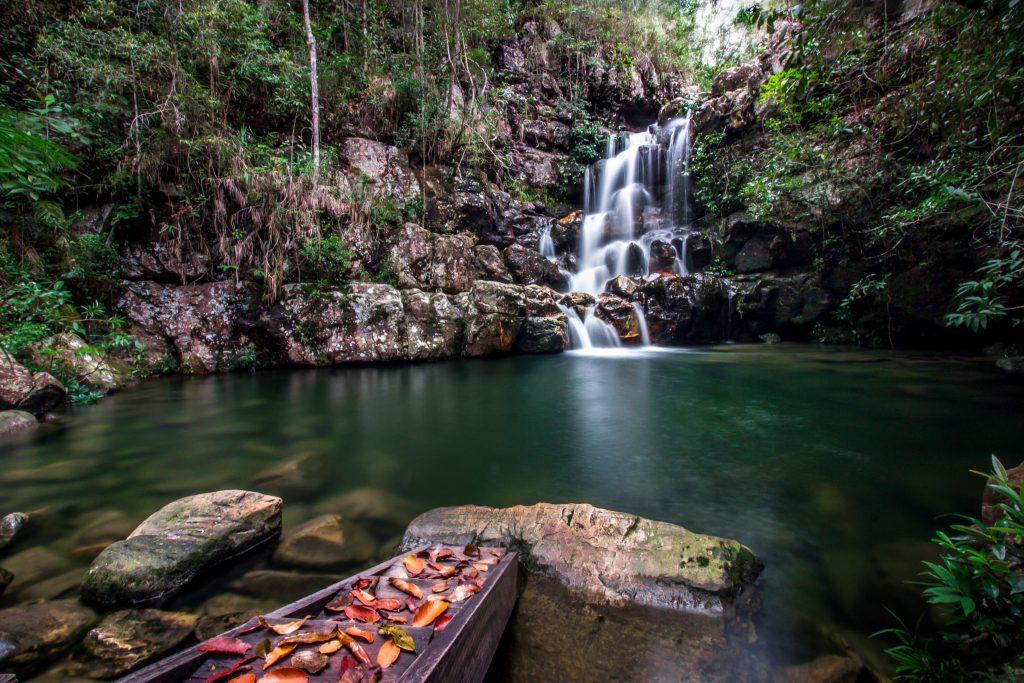 A Cachoeira Loquinhas é ideal para família: com várias quedas d'água e lugares para banho (Crédito: Mundo Sem Muros)