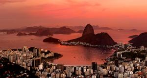 Baía da Guanabara e Pão de Açúcar - Rio de Janeiro