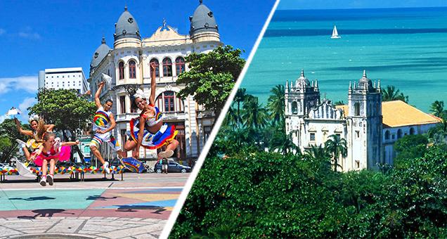 Seis pontos turísticos para conhecer Recife e Olinda