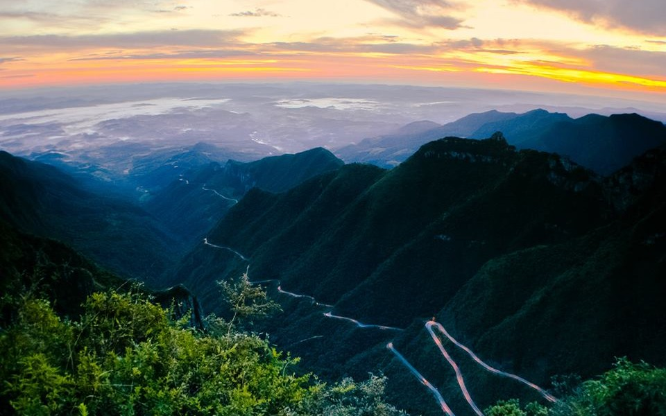 viagem pelo Brasil - serra catarinense