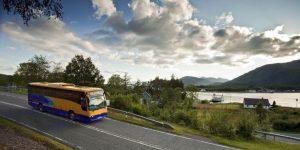 faça uma boa viagem de ônibus