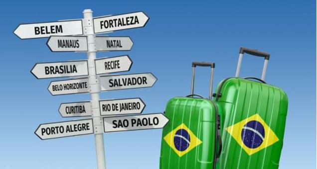 Viajar de ônibus e conhecer o Brasil
