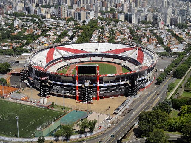 Estádio do River Plate, o Monumental, é a casa da Seleção da Argentina