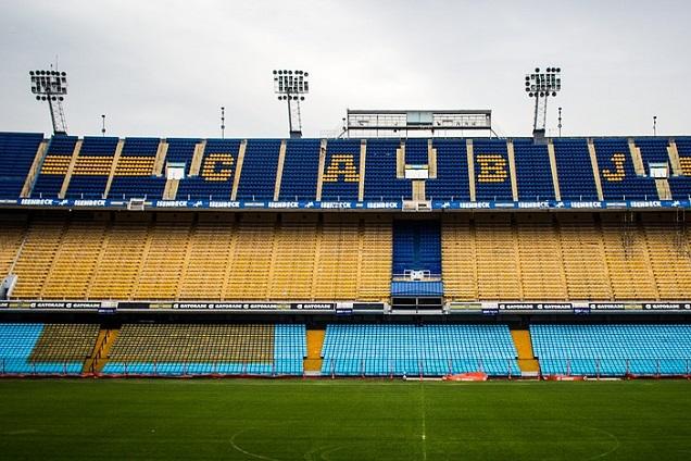 La Bombonera é um dos templos sagrados do futebol mundial