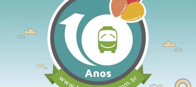 BuscaOnibus: 10 anos viajando com você