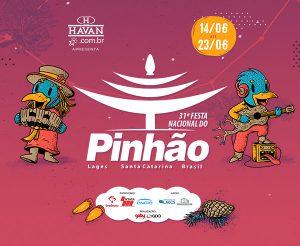 Festa do Pinhão 2019 acontece em Lages/SC de 14 a 23/06
