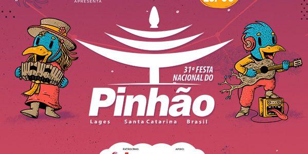 Confira a programação da Festa do Pinhão 2019 que acontece em Lages/SC