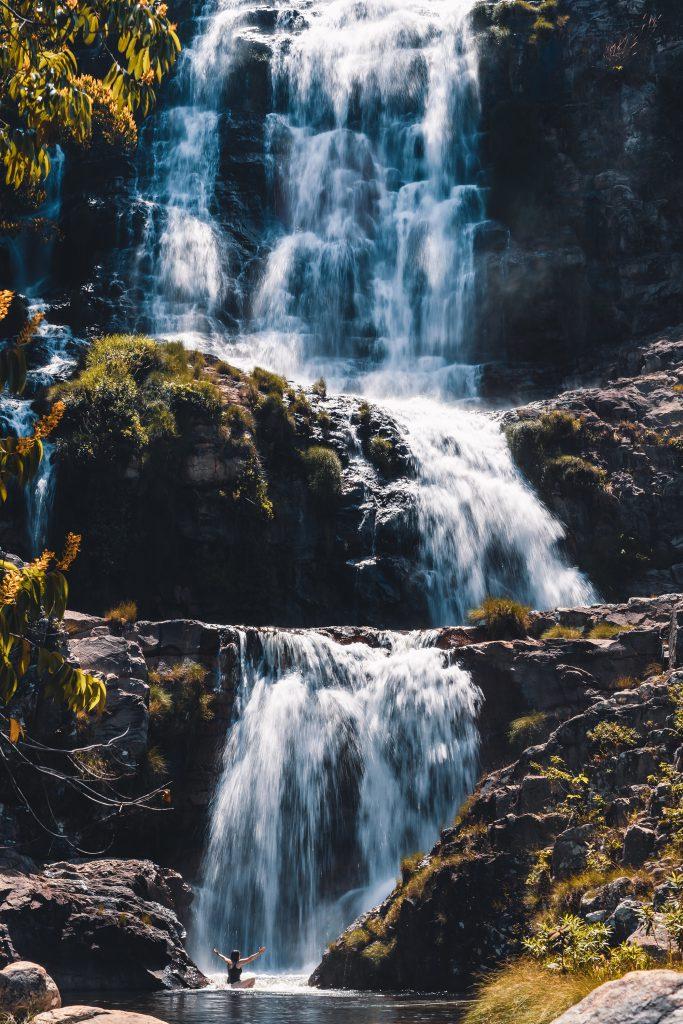 A Cachoeira Candaru é um segredinho guardado da Chapada dos Veadeiros (Crédito Mundo Sem Muros)