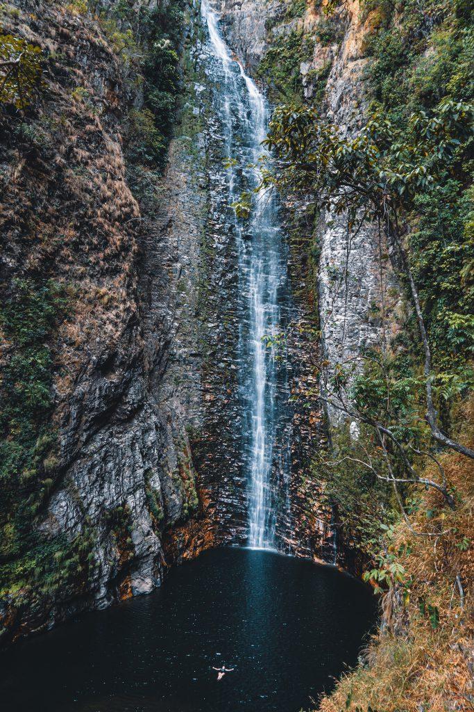 A Cachoeira do Segredo é a mais linda que visitamos (Crédito: Mundo Sem Muros)
