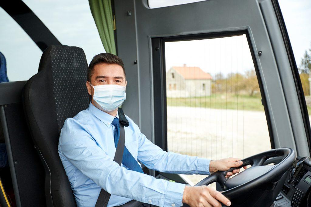 Empresas de ônibus estão tomando medidas contra o coronavírus