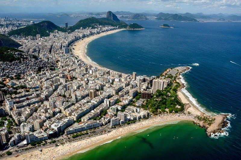Copacabana está entre os cenários classificados como Patrimônio da Humanidade