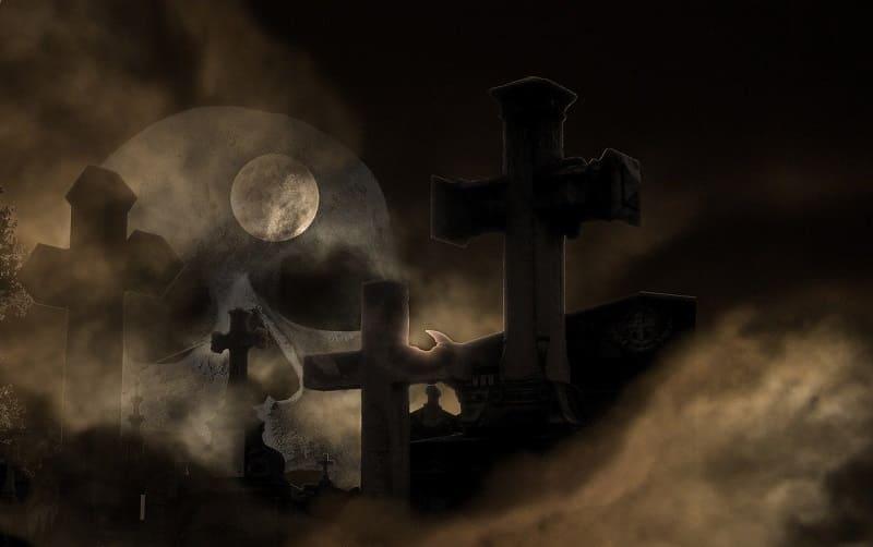Dia das Bruxas ou Halloween surgiu em torno da aproximação do mundo em que vivemos com o mundo dos mortos.