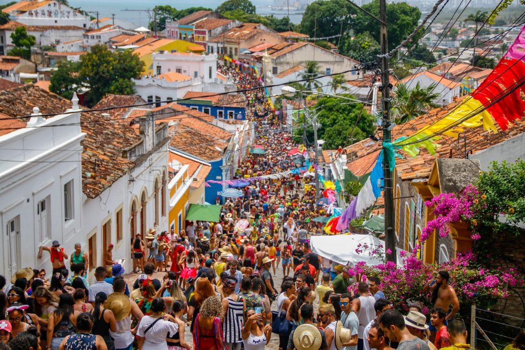 Olinda foi fundada em 1535 e tem um dos Carnavais mais famosos do Brasil