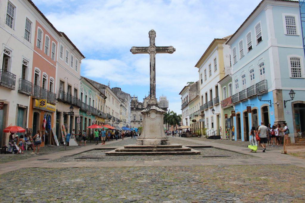 Pelourinho, na capital da Bahia, Salvador, é Patrimônio da Humanidade desde 1985