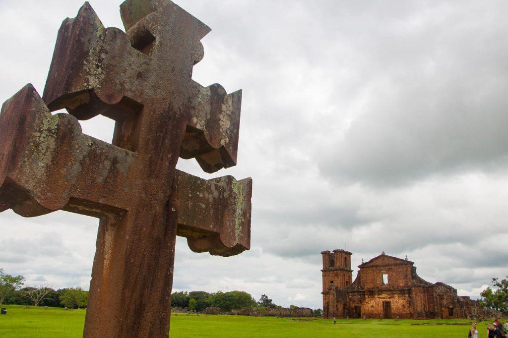 Construções em São Miguel das Missões-RS foram erguidas por padres jesuítas entre os séculos 17 e 18