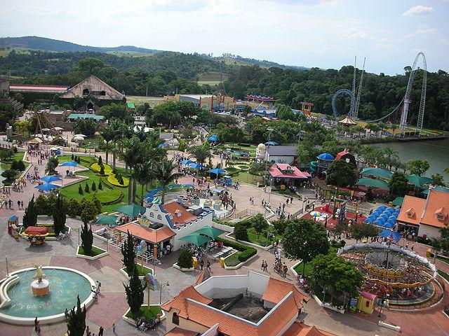 TOP 7 Parques temáticos e aquáticos mais incríveis do Brasil